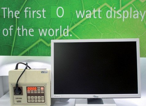 World's First Zero-Watt Monitor