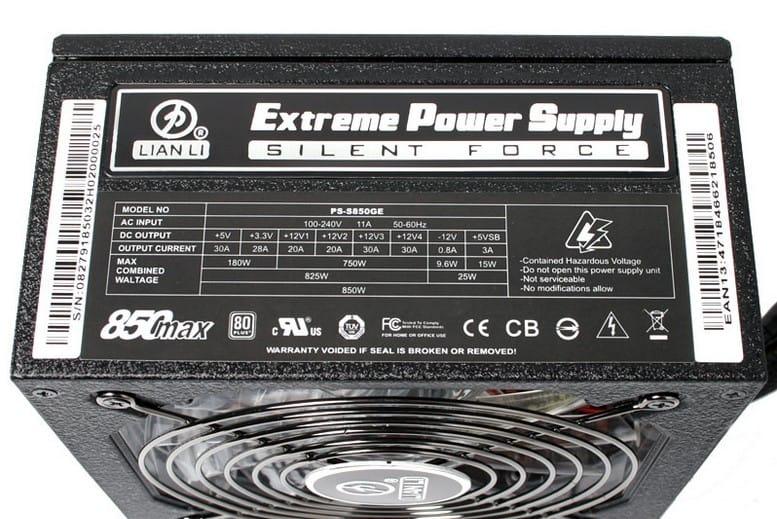Lian-Li Silent Force Power Supply Unit