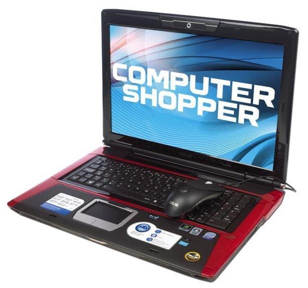 ASUS G71V Gaming Laptop