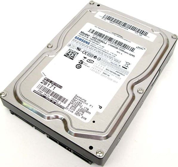 Samsung SpinPoint F1 (1TB)